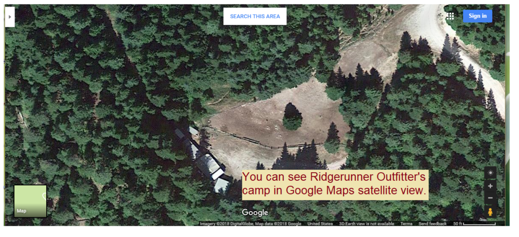 Hunting Camp Ridgerunner Outfitters Idaho